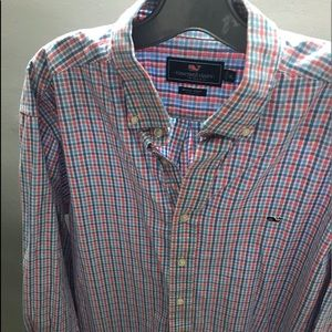 Vineyard Vines Whale Button Down